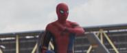 Spider-Man saludando