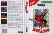 Spider-Man vs. The Kingpin Master System Cover