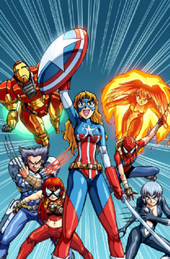 Heroes mangaverse