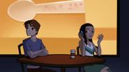 Liz ignora a Peter cuando este intenta ayudarla con sus notas - Interactions