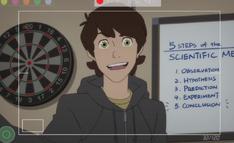 Peter empeiza a estudiar sus habilidades