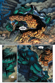 The Thing vs Hulk WB