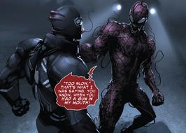 Carnage vs Agente Venom