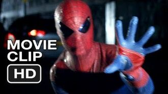 The Amazing Spider-Man Movie CLIP 2 - Police Chase (2012) Andrew Garfield HD