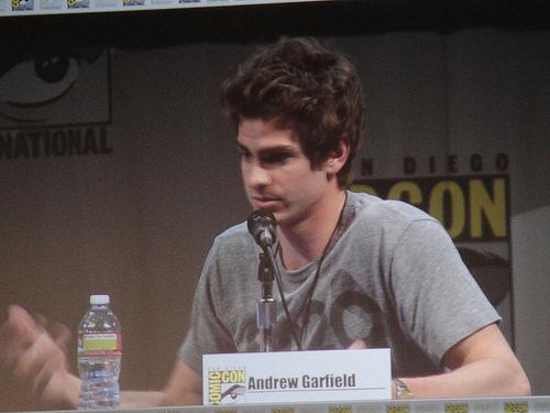 File:San Diego Comic-Con 2011 - Amazing Spider-Man panel - Andrew Garfield.jpg