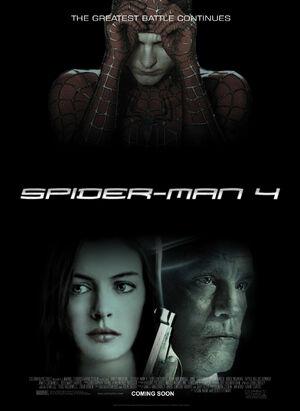 Spider-Man 4 movie poster