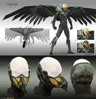 Vulture from MSM concept art