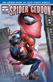 Spider-Geddon issue 0 cover