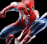 Spider-Man from MSM render