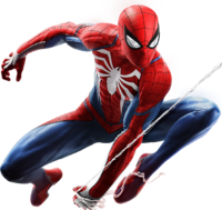 Spider-Man from MSM render