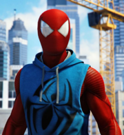 Scarlet Spider Suit from MSM promo