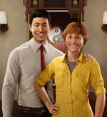Martin Li and May Parker from MSM illustration