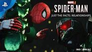 Marvel's Spider-Man – Just the Facts RELATIONSHIPS PS4