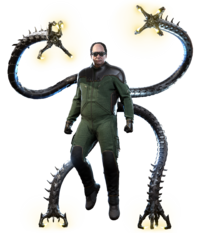 Doctor Octopus from MSM render