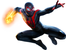 Miles Morales from MM render