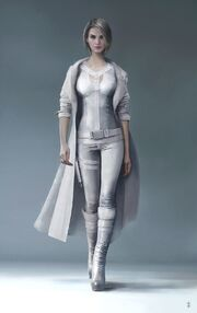 Silver Sable from MSM concept art