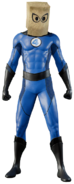 Bombastic Bag-Man Suit from MSM render