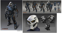 Taskmaster from MSM concept art