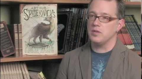 "Tony DiTerlizzi and ""Arthur Spiderwick's Fantastical Field Guide""-1"