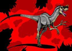 Jurassic park proceratosaurus by hellraptor-d23x0vv