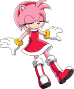 Amy Rose Daydreaming (Sonic X Version)