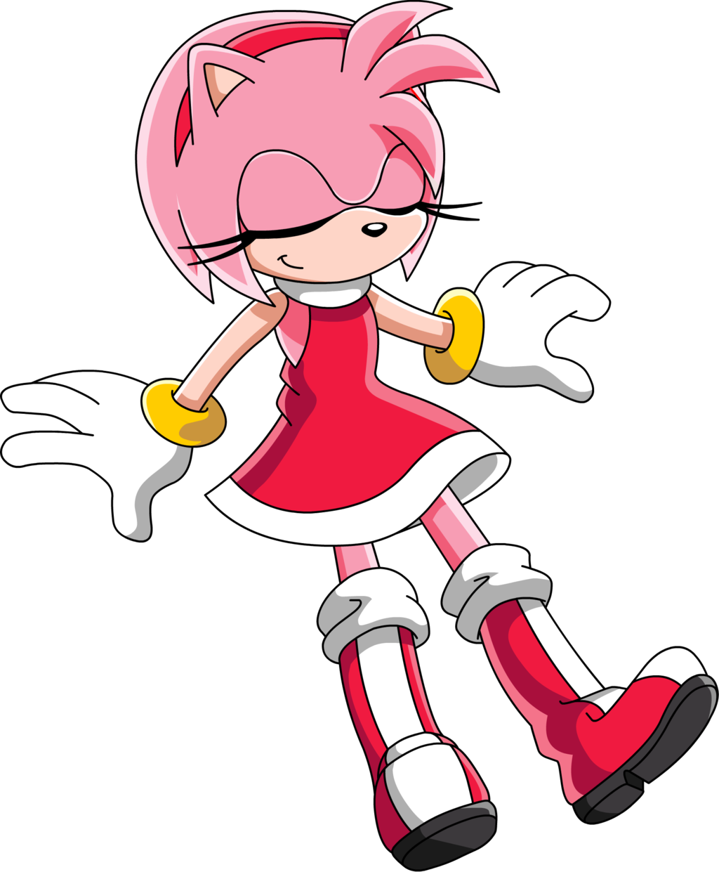 Amy Rose Daydreaming Sonic X Version