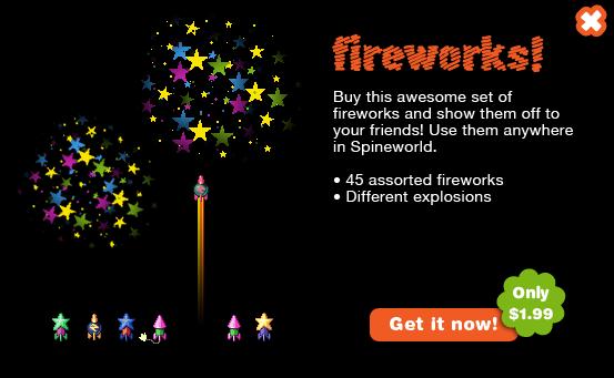 45 Fireworks