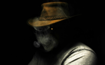 Smoking dark people hats black background 1920x1200 wallpaper www.artwallpaperhi.com 45