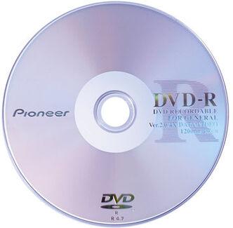 Pioneer 4x dvd-r media big 1 357