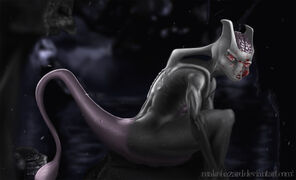 Mewtwo by makohazard-d5oz1ga