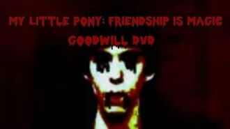 My Little Pony Friendship is Magic Goodwill DVD