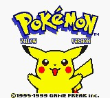 PokemonYellowTitleScreen