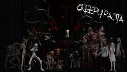 Creepypasta wallpaper updated by bobombdom-d5syejj