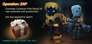 Construct Prize Box ad