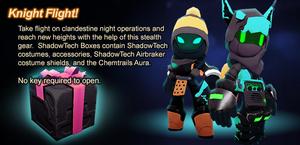 ShadowTech Prize Box ad