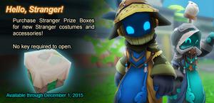 Stranger Prize Box ad