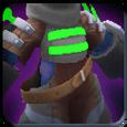 Sacred Snakebite Hex Armor