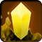 Mineral Icon Yellow