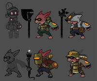 Gremlin concepts by malakym