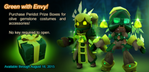 Peridot Prize Box ad