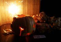 2018 Pumpkin Carving Contest Spiralka-Chan Toxic Bombhead Mask