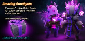 Amethyst Prize Box ad