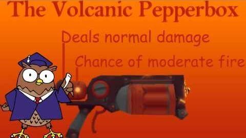 Volcanic Pepperbox Demonstration