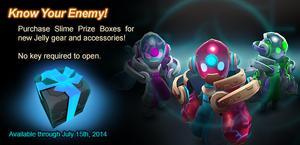 Slime Prize Box ad