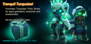 Turquoise Prize Box ad