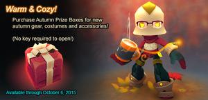 Autumn Prize Box ad