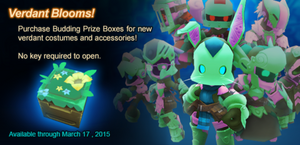Budding Prize Box ad