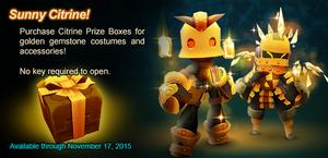 Citrine Prize Box ad