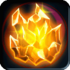 Radiant Fire Crystal