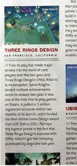 Game developer top 30 Three Rings Design